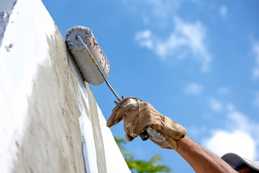塀塗装工事